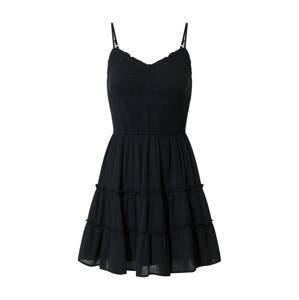 HOLLISTER Letní šaty  černá