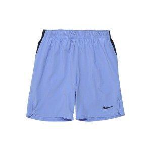 NIKE Sportovní kalhoty 'Flex Ace'  černá / královská modrá
