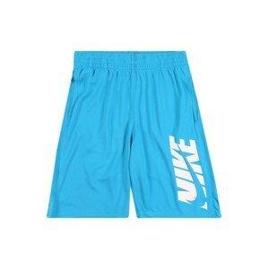 Nike Sportswear Kalhoty  bílá / světlemodrá