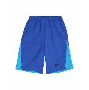 NIKE Sportovní kalhoty  královská modrá / světlemodrá / černá