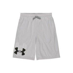 UNDER ARMOUR Sportovní kalhoty 'Prototype'  šedá / bílá / černá