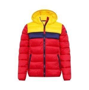 CMP Outdoorová bunda  červená / žlutá / námořnická modř