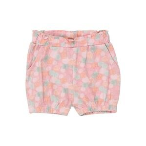 NAME IT Kalhoty 'Josefine'  růžová / oranžová / mátová