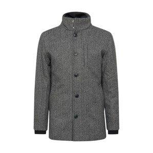 JACK & JONES Zimní kabát 'Dual'  tmavě šedá
