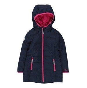 TROLLKIDS Outdoorová bunda 'Stavanger'  pink / námořnická modř