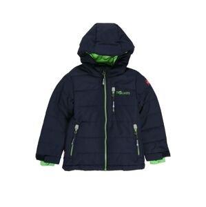 TROLLKIDS Outdoorová bunda  námořnická modř / kiwi