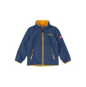 TROLLKIDS Funkční flísová bunda 'Oppdal'  modrá / zlatě žlutá