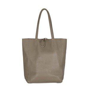 Zwillingsherz Nákupní taška  šedobéžová