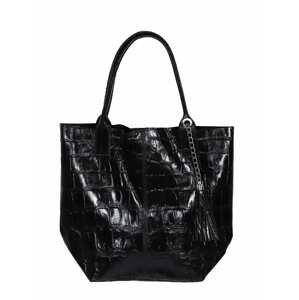 Zwillingsherz Nákupní taška  černá