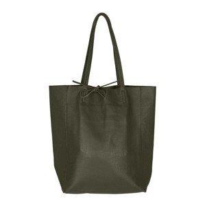 Zwillingsherz Nákupní taška  olivová