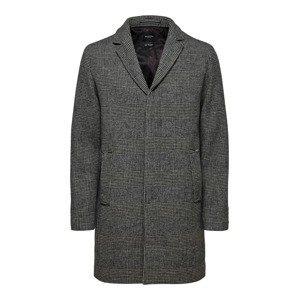 SELECTED HOMME Přechodný kabát 'HAGEN'  šedá / antracitová