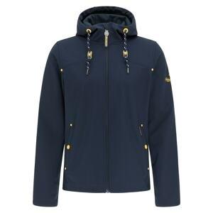 Schmuddelwedda Funkční bunda  marine modrá / svítivě žlutá