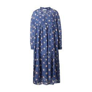 Love & Divine Košilové šaty  modrá / béžová