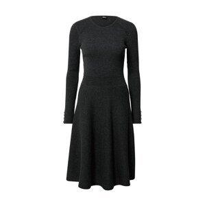 s.Oliver BLACK LABEL Šaty  tmavě šedá