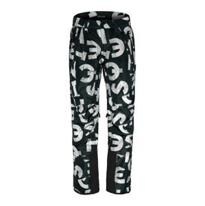 CHIEMSEE Outdoorové kalhoty 'TAOS'  bílá / tmavě zelená