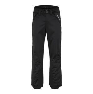 CHIEMSEE Outdoorové kalhoty 'PLANAKA PEAK'  černá / šedý melír