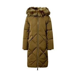 GUESS Zimní kabát  zelená