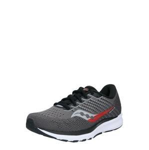 saucony Běžecká obuv 'Ride 13'  černá / šedá / bílá