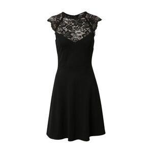 Tally Weijl Koktejlové šaty  černá
