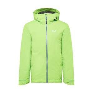 JACK WOLFSKIN Sportovní bunda  zelená