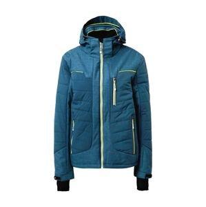 KILLTEC Outdoorová bunda 'Blaer'  nebeská modř / svítivě žlutá