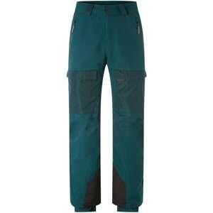 O'NEILL Outdoorové kalhoty  smaragdová / tmavě šedá