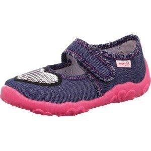 SUPERFIT Pantofle 'Bonny'  námořnická modř / pink / černá