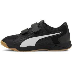PUMA Sportovní boty 'Auriz'  černá / bílá