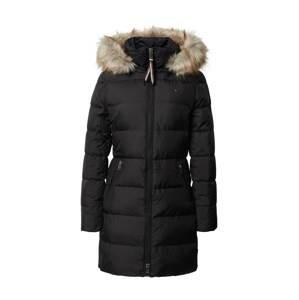 TOMMY HILFIGER Zimní kabát  černá / béžová