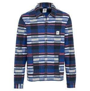ELEMENT Košile 'Americana'  bílá / modrá / námořnická modř / pastelově červená