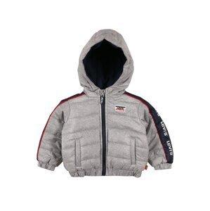 LEVI'S Zimní bunda  světle šedá / námořnická modř / červená