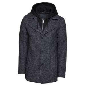 INDICODE JEANS Přechodný kabát 'Adair'  námořnická modř