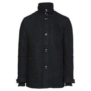 INDICODE JEANS Přechodný kabát  černá