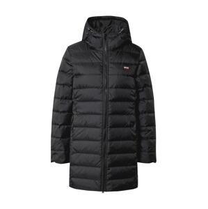 LEVI'S Zimní kabát  černá / noční modrá / bílá / červená
