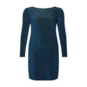 ONLY Carmakoma Šaty  modrá