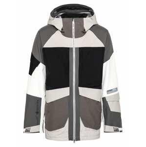 BURTON Outdoorová bunda 'Banshey'  černá / šedá / bílá