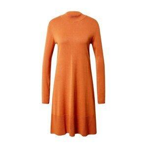 Esprit Collection Úpletové šaty  rezavě hnědá