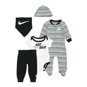 Nike Sportswear Sada  černá / šedý melír / bílá