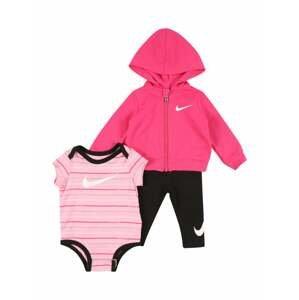 Nike Sportswear Sada  pink / černá / růžová / bílá