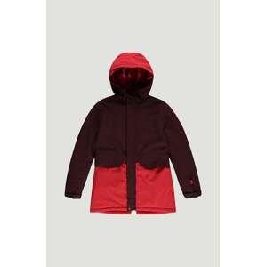 O'NEILL Outdoorová bunda 'Zeolite'  světle červená / rezavě červená