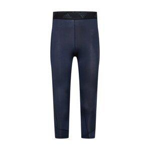 ADIDAS PERFORMANCE Sportovní kalhoty 'Techfit'  tmavě modrá