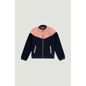 O'NEILL Fleecová mikina  modrá / pink
