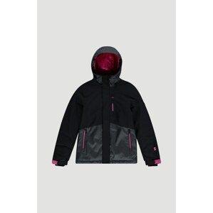 O'NEILL Outdoorová bunda 'Snow Coral Ski'  černá / šedá / pink