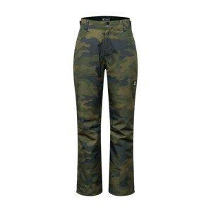 BRUNOTTI Sportovní kalhoty 'Kitebar'  zelená / khaki / modrá