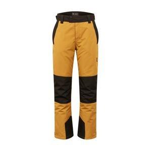 BRUNOTTI Outdoorové kalhoty 'Andras'  velbloudí / tmavě hnědá