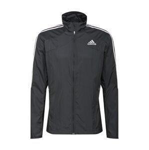 ADIDAS PERFORMANCE Sportovní bunda 'Response'  černá / bílá
