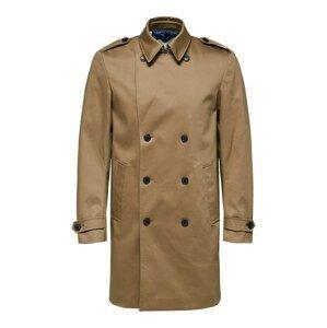 SELECTED HOMME Přechodný kabát 'Sander'  světle hnědá