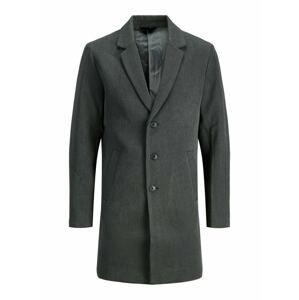 JACK & JONES Přechodný kabát  tmavě šedá