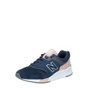 new balance Tenisky  bílá / námořnická modř / růžová / tmavě šedá