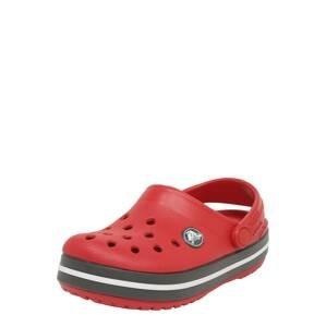 Crocs Otevřená obuv 'K 204537-4O5'  grafitová / červená